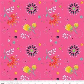 Riley Blake  Jubilee - 7481 Pink