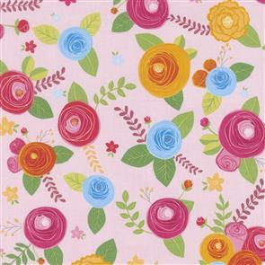 Riley Blake  Simply Happy - 7450 Pink