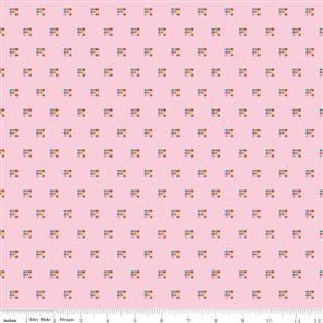 Riley Blake  Simply Happy - 7452 Pink