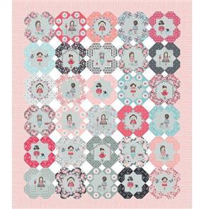 "Riley Blake  Abbie's Garden Hexie 36"" Panel"