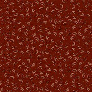 Blank Quilting  Rustic Homestead - Leaf Feather Red