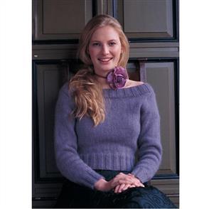 Rowan  Knitting Pattern - Charlotte Sweater