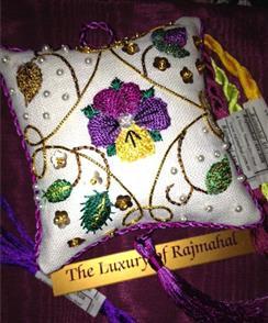 Rajmahal Elizabethan Rich Pincushion Kit