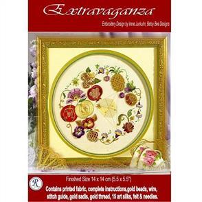 Rajmahal Extravaganza Embroidery Kit