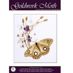 Rajmahal Goldwork Moth Embroidery Kit