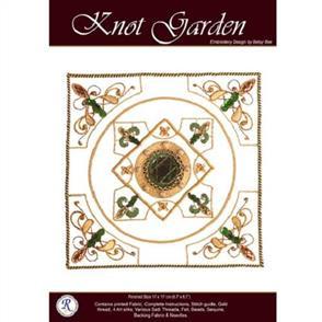 Rajmahal Knot Garden Embroidery Kit