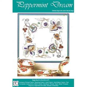 Rajmahal Peppermint Dream Embroidery Kit