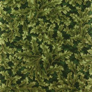 RJR Fabric  s - Claridge Manor - 1474 Green