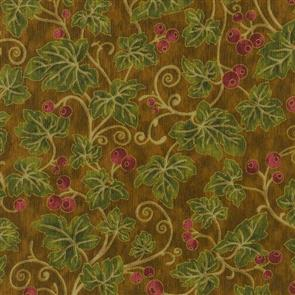 RJR Fabric  s - Claridge Manor - Ivy Brown