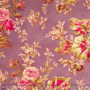 RJR Fabric  s - Esprit Maison - Fleur Amethyst