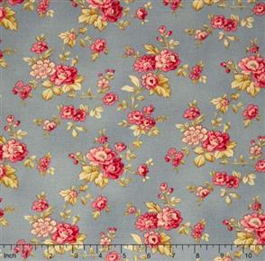 RJR Fabric  s - Esprit Maison - Petit Fleur Grey