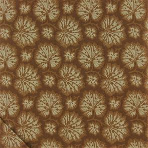 RJR Fabric  s - Sugar House - Leaves Brown