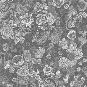 Robert Kaufman  Garden - 14852 Grey