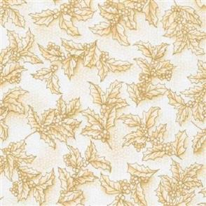 Robert Kaufman  Holiday Flourish - 14555 Gold