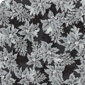 Robert Kaufman  Holiday Flourish - 17340 Grey