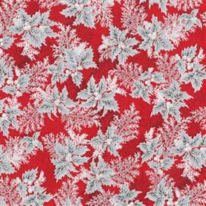 Robert Kaufman  Holiday Flourish - 17340 Red