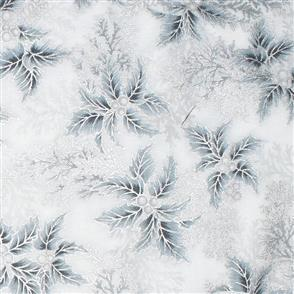 Robert Kaufman  Holiday Flourish - 17340 White
