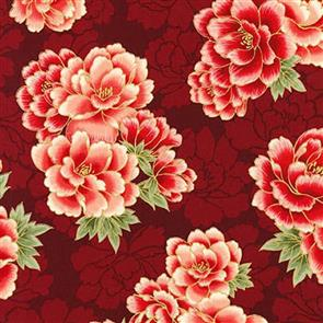Robert Kaufman  Imperial Collection - 16753 Crimson