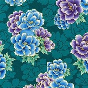 Robert Kaufman  Imperial Collection - 16753 Teal