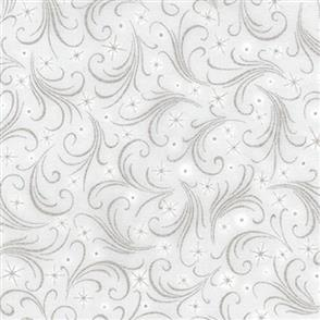 Robert Kaufman  Winter's Grandeur - 17328 Grey