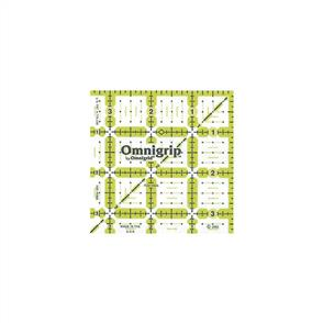 "Omnigrid Omnigrip By Non-Slip Quilter's Ruler 3.5""X3.5"""