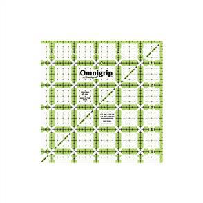 """Omnigrid  Omnigrip Non-Slip Quilter's Ruler 5-1/2""""X5-1/2"""""""