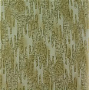 Red Rooster  Fabric - Akahana - 25827 Gold