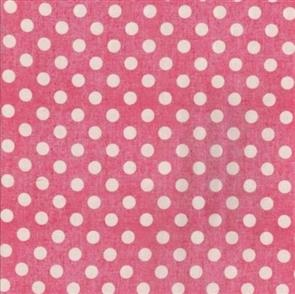 Red Rooster  Fabric - Aunt Ruthie's - 24932 Pink