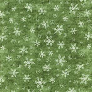 Red Rooster  Christmas Whimsy - 25210 Green