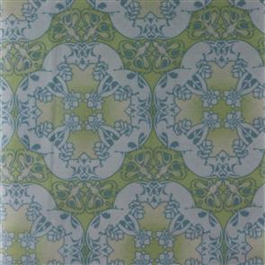 Red Rooster  Fabric - Gaslight - 23677 Green