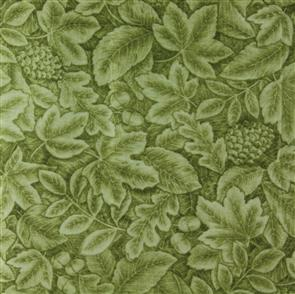 Red Rooster  Fabric - Harvest Breeze - 24682 Green