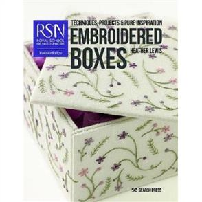 Search Press  RSN: Embroidered Boxes : Techniques, Projects & Pure Inspiration