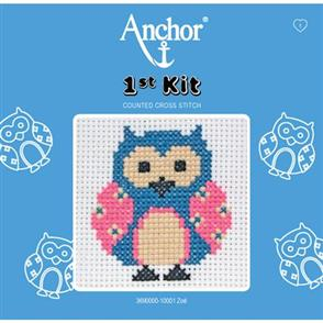 Anchor  1st Kit: Counted Cross Stitch - Zoe