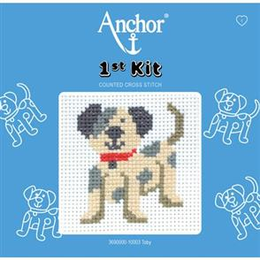 Anchor  1st Kit: Counted Cross Stitch - Toby