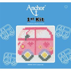 Anchor  1st Kit: Counted Cross Stitch - Camper Van