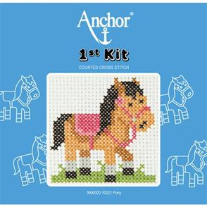 Anchor  1st Kit: Counted Cross Stitch - Pony