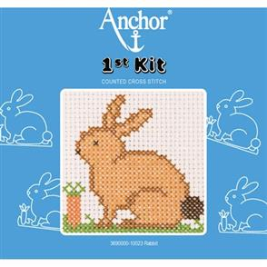 Anchor  1st Kit: Counted Cross Stitch - Rabbit