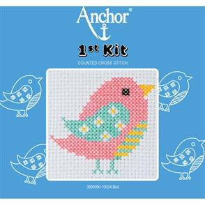 Anchor  1st Kit: Counted Cross Stitch - Bird