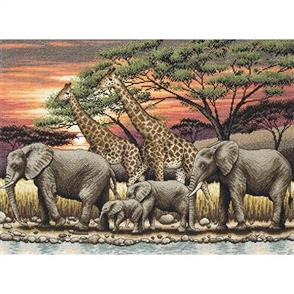 Anchor  Maia Collection - Cross Stitch African Sunset