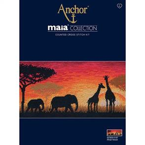 Anchor  Maia Collection - Cross Stitch African Horizon
