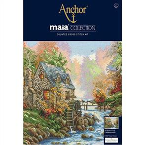 Anchor  Maia Collection - Cross Stitch Cobblestone Mill