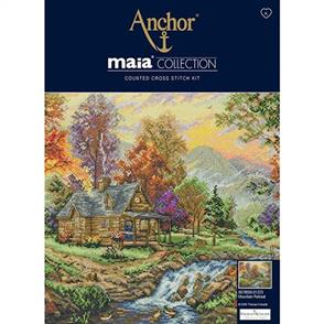 Anchor  Maia Collection - Cross Stitch Mountain Retreat