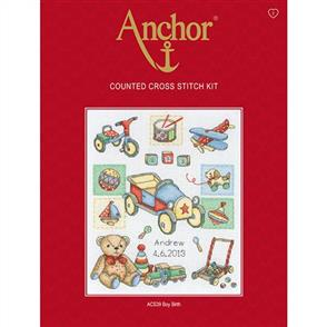 Anchor  Essential Kits: Cross Stitch Boy Birth