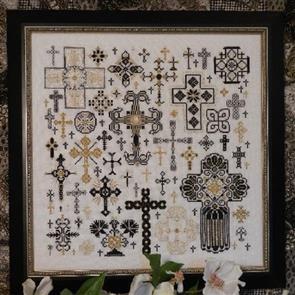 Rosewood Manor Cross Stitch Designs - Crosses of the Kingdom