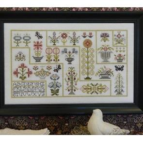 Rosewood Manor  Cross Stitch Designs - Willowbrook Pathways