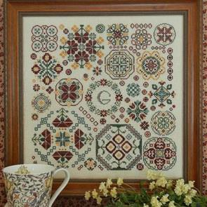 Rosewood Manor Cross Stitch Designs - Round & Round
