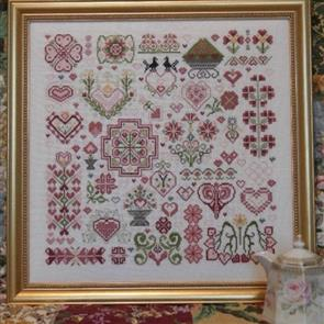 Rosewood Manor Cross Stitch Designs - Hearts of the Kingdom