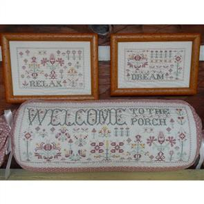 Rosewood Manor Cross Stitch Designs - Porch Welcome