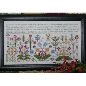 Rosewood Manor  Cross Stitch Designs - Beauteous Garden