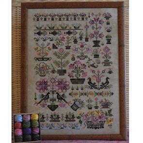 Rosewood Manor  Cross Stitch Designs - Baskets!